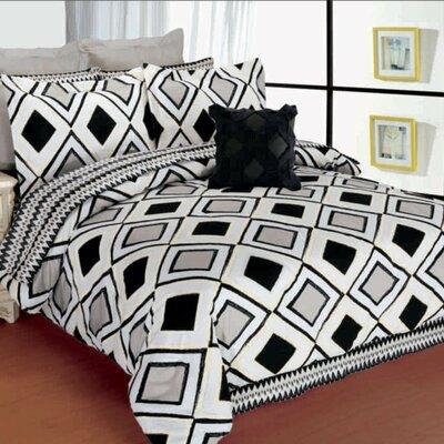 Lacozee Classic 12 Piece Comforter set Size: Queen