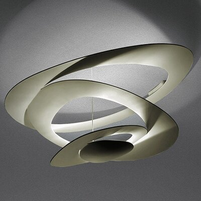 Pirce 1 Light Semi Flush Ceiling Light