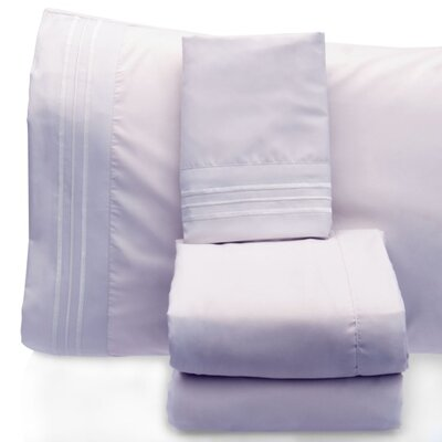 Luxurious 1500 Thread Count Sheet Set Color: Lilac, Size: Full
