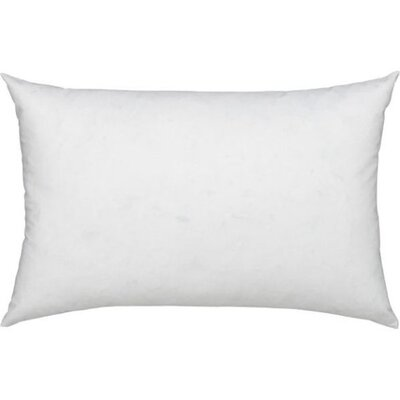 Modern Cotton Pillow Insert Size: 12 x 16