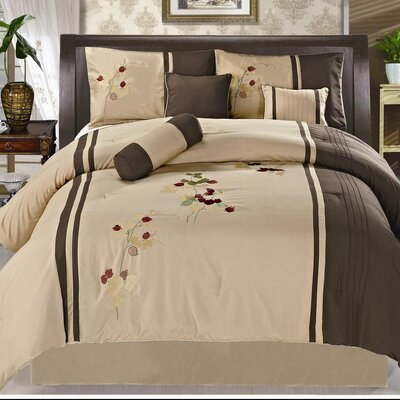 Dune 7 Piece Comforter Set Size: King