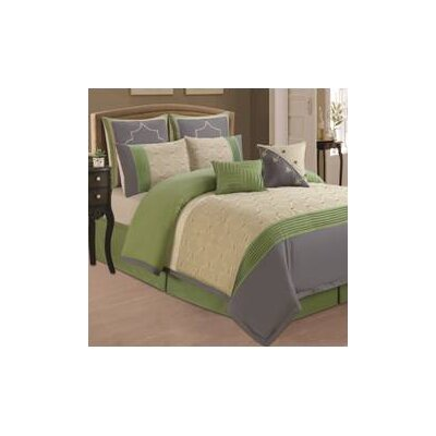 Classic 8 Piece Comforter Set Size: King / California King