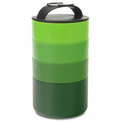 Stackable 36 Oz. Food Storage Container PP-1TP4G