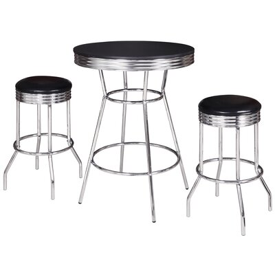 Anissa 3 Piece Pub Table Set