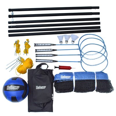 Volleyball/Badminton Complete Combo Set BG3141