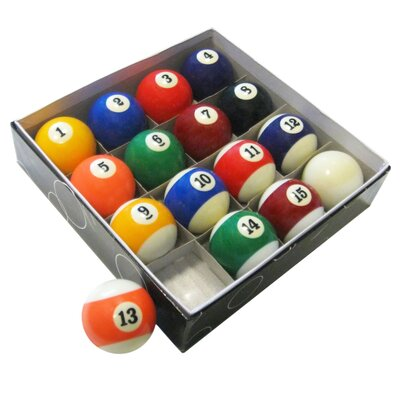 Pool Table Regulation Billiard Ball Set BG2545