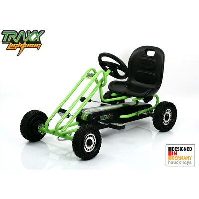 Traxx Lightening Pedal Go Kart - Color: Race Green at Sears.com