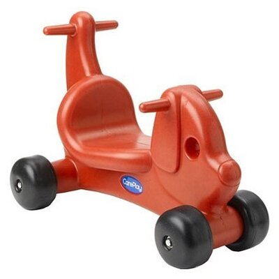 Puppy Dog Push/Scoot Ride-On Color: Red
