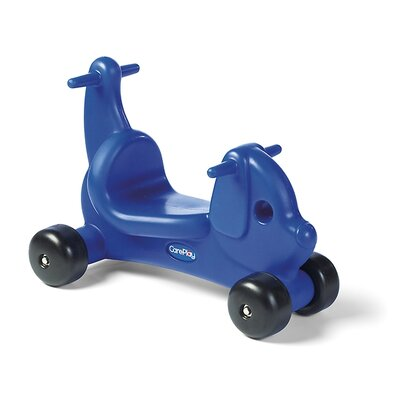 Puppy Dog Push/Scoot Ride-On Color: Blue
