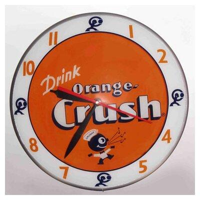 "Double Bubble 14.5"" Crush Wall Clock"
