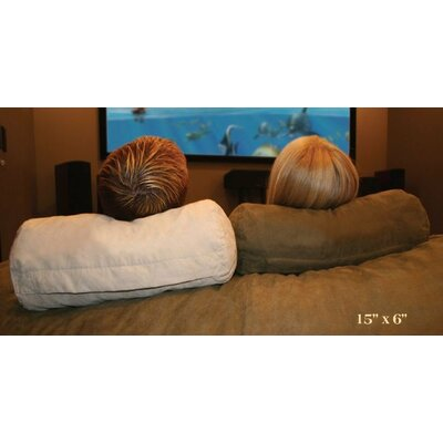 Neck Body Pillow Color: Brown Microfiber