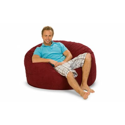 Gianti Bean Bag Lounger Upholstery: Cinnabar Microfiber