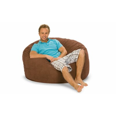 Gianti Bean Bag Lounger Upholstery: Earth Microsuede