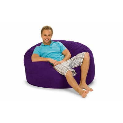 Gianti Bean Bag Lounger Upholstery: Purple Microsuede
