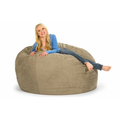 Enormo Bean Bag Sofa Upholstery: Microsuede, Color: Camel