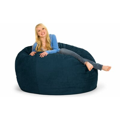Enormo Bean Bag Sofa Upholstery: Microsuede, Color: Navy
