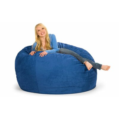 Enormo Bean Bag Sofa Upholstery: Microsuede, Color: Blue