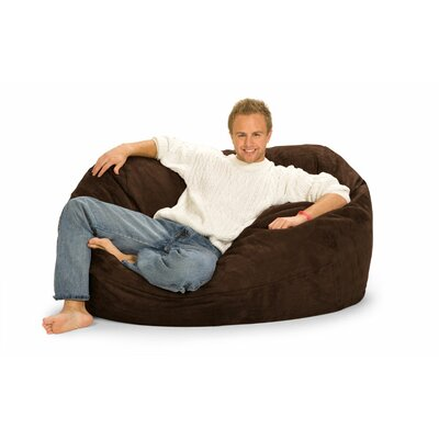 Enormo Bean Bag Sofa Upholstery: Chocolate