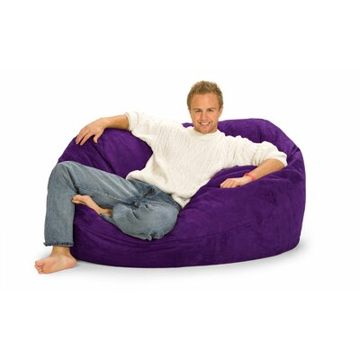 Enormo Bean Bag Sofa Upholstery: Purple