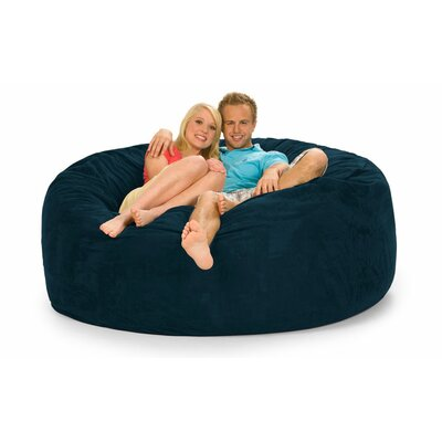 Colossa Bean Bag Sofa Upholstery: Navy Microsuede