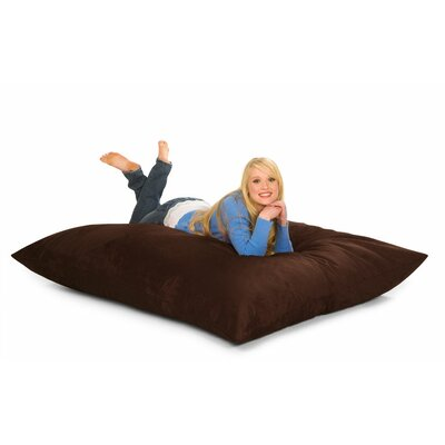 Bean Bag Lounger Upholstery: Chocolate Microsuede