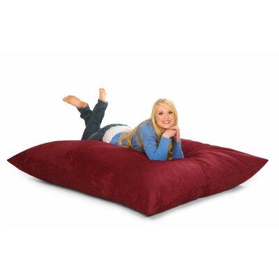 Bean Bag Lounger Upholstery: Cinnabar Microfiber