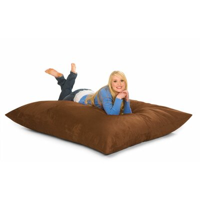 Bean Bag Lounger Upholstery: Earth Microsuede