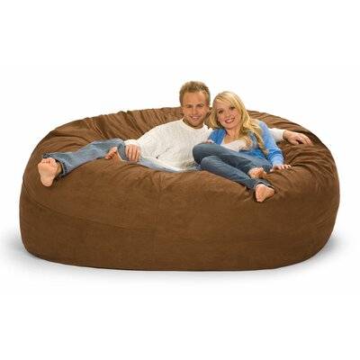Giganti Bean Bag Sofa Upholstery: Earth Microsuede