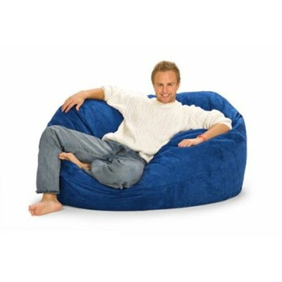 Enormo Bean Bag Sofa Upholstery: Blue