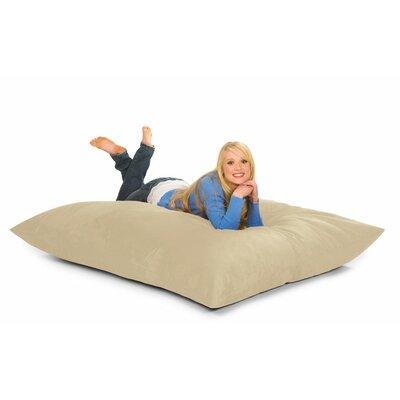 Bean Bag Lounger Upholstery: Sand Microfiber