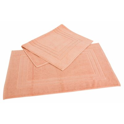 Ring Spun Cotton Line 100% Pima Cotton Bath Mat Color: Champagne