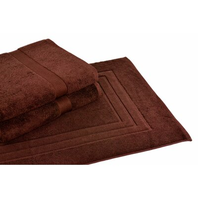 Ring Spun Cotton Line 3 Piece Towel Set Color: Coffee Bean