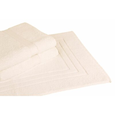 Ring Spun Cotton Line 3 Piece Towel Set Color: Ivory