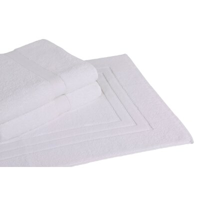 Ring Spun Cotton Line 3 Piece Towel Set Color: White