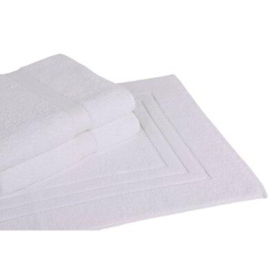 All American Cotton Line 3 Piece Towel Set Color: White