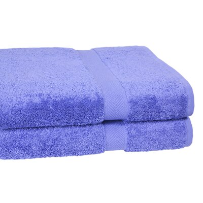 Ring Spun Cotton Line 10 Bath Sheet Color: Morning Glory