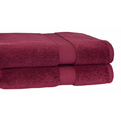 Growers Bath Towel Color: Burgundy