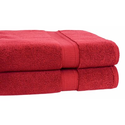 Growers Bath Towel Color: Cranberry