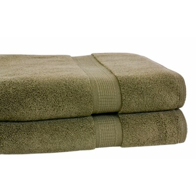 Growers Bath Towel Color: Moss Green