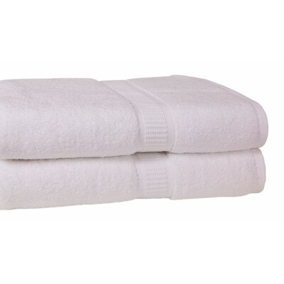 Growers Bath Towel Color: White