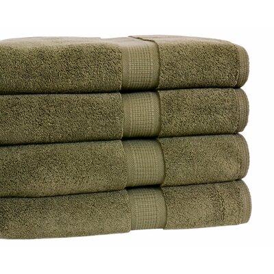 Growers Bath Towel Color: Moss Green