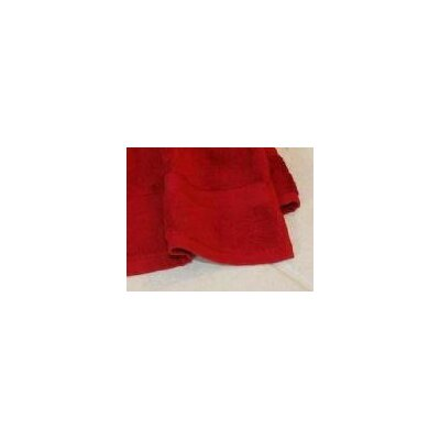 All American Cotton Line 3 Piece Towel Set Color: Pomegranate