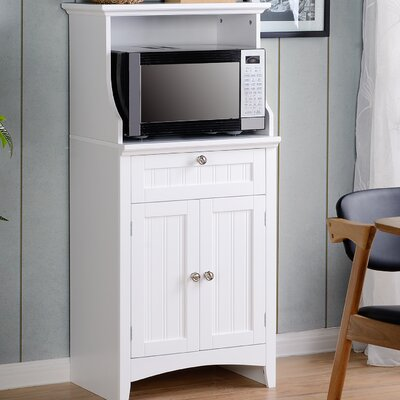 Microwave/Coffee Maker Kitchen Island