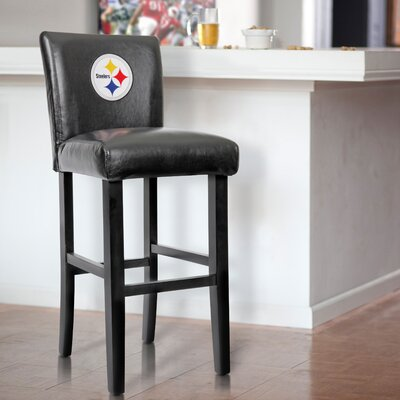 30 Upholstered Bar Stool NFL Team: Pittsburgh Steelers