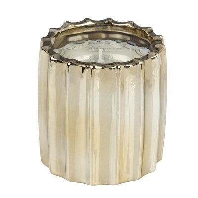 Ribbed Fennel and Fig Scented Novelty Candle AD-50544