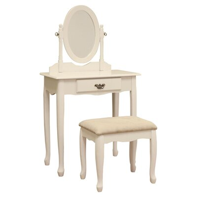 Mega Home 3-Piece Vanity Set - Color: White at Sears.com