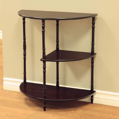 Multi Tiered End Table Finish: Cherry