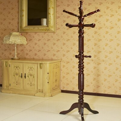 Traditional Coat Rack Finish: Cherry