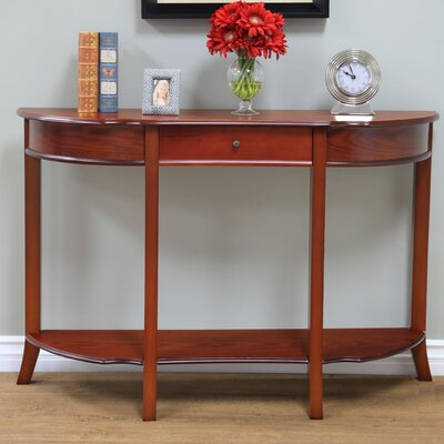 Gillette Console Table Finish: Walnut