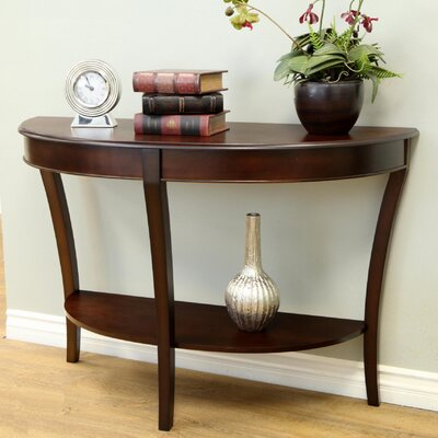 Hickory Half - Round Console Table